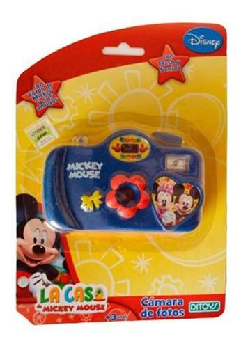 Camara De Fotos Mickey Azul-rojo 656 Cuotas