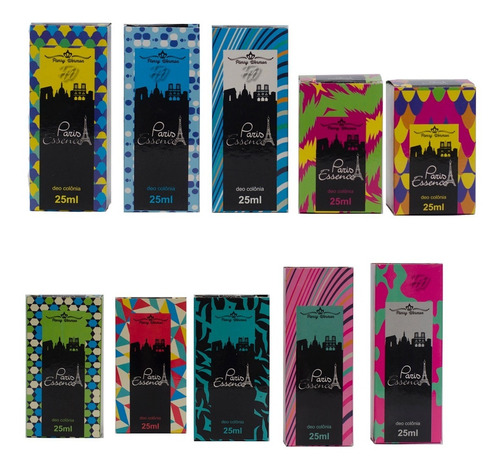 Kit 24 Perfumes Para Revenda Paris Pierry Wermon Atacado