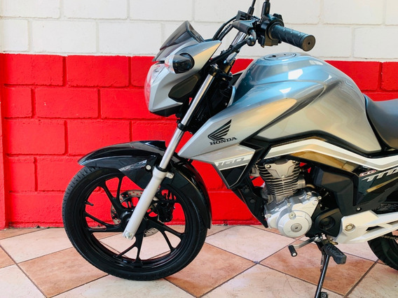 Honda Cg 160 Titan Ex - Cinza - 2019 - Financiamos