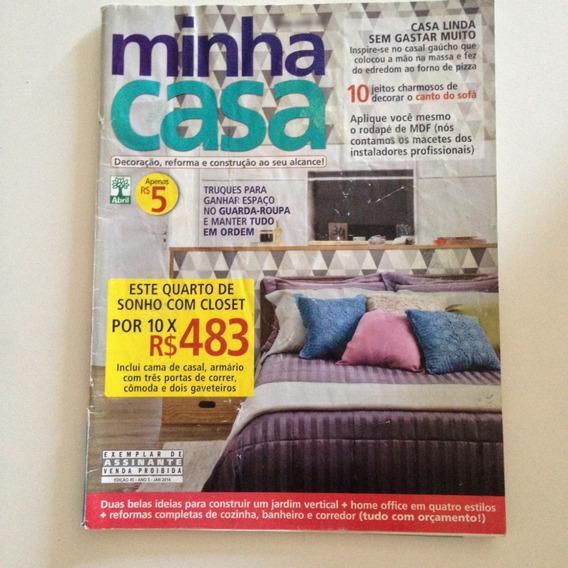 Revista Minha Casa N45 Jan2014 Jardim Vertical / Closet C2