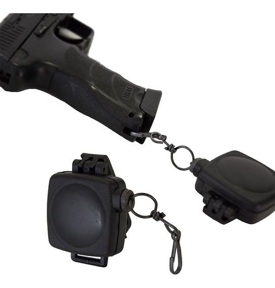 Rabiza Tactica Policial Retractil Cinto Sujetador Pistola