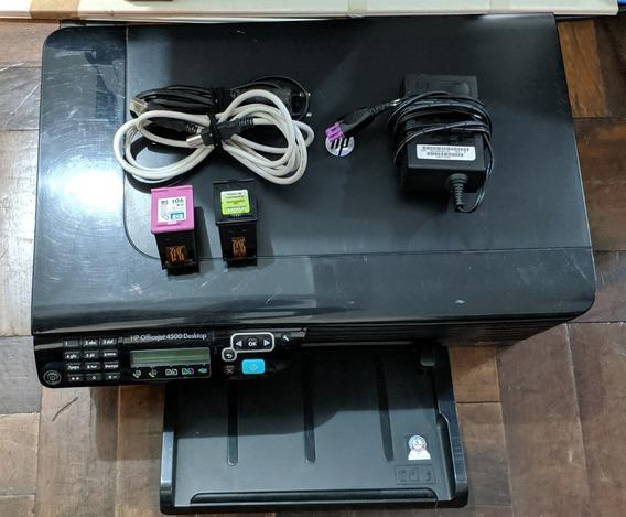 Impressora Multifuncional Jato Tinta Hp Officejet 4500 Desktop Scanner R$ 79av