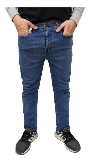Pantalón Jean Levis 510 Skinny Hombre Color Jean Medio