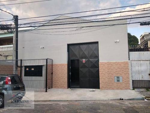 Galpão À Venda, 400 M² Por R$ 1.600.000 - Casa Verde Média - São Paulo/sp - Ga0106