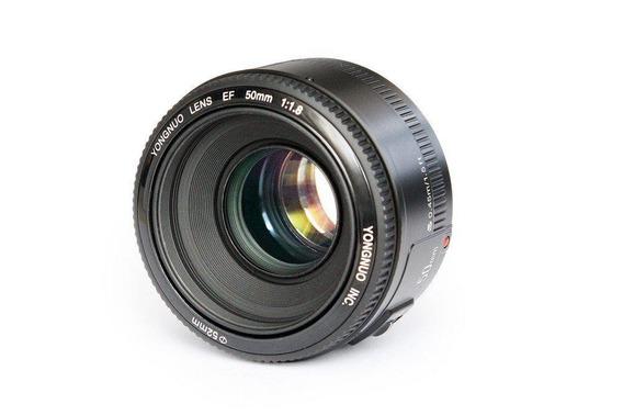 Lente De Grande Abertura + Autofoco Para Canon Ef Eos