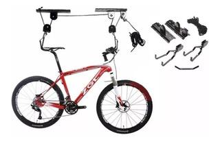 Soporte Levadizo Para Bicicletas Espacios Reducidos Polea