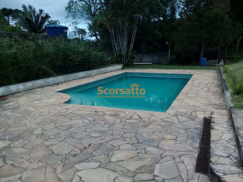 Chácara Com 3 Dorms, Potuverá, Itapecerica Da Serra - R$ 550 Mil, Cod: 4213 - V4213