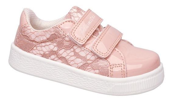 Zapatillas De Encaje Plumitas Oficial Para Niña Pretty Rose