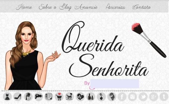 Blog De Beleza Pronto/completo Para Quem Quer Ser Blogueira