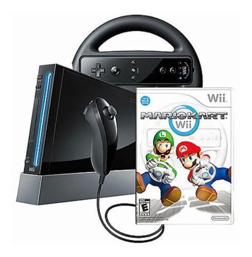 Consola Nintendo Wii Black