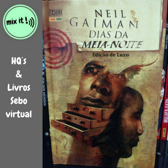 Hq Dias Da Meia Noite Neil Gaiman Vertigo Mxthq