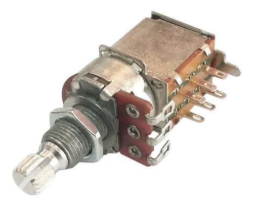 Imagen 1 de 3 de Potenciómetro Sambong H74 Pp A500k Push Pull
