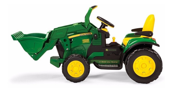 Brinquedo Mini Trator John Deere Ground Loader Peg Perego