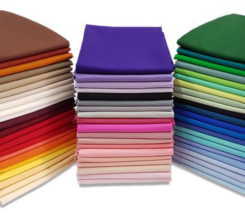 Tecido Tricoline Liso Várias Cores 100% Algodão 50cm X 1,5mt