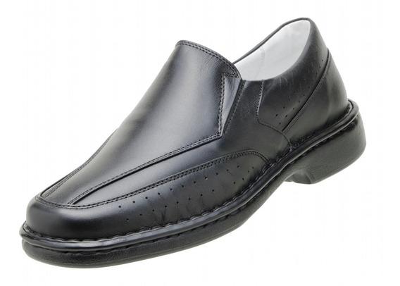 Sapato Social Masculino Asa Relax Confor Anti Stress 1751 Dm