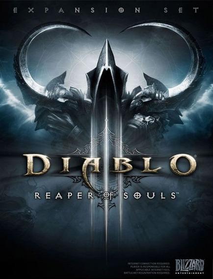 Diablo 3 Reaper Of Souls Pc - Blizzard Key (envio Já)
