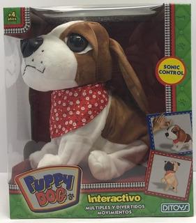 Perro Mascota Puppy Dog Interactivo Ladra Gruñe Ditoys