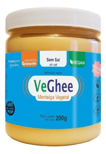 Imagem 1 de 3 de Veghee Manteiga Vegetal Sem Sal 200g
