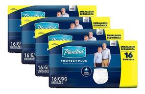 Kit 4 Pacotes Roupa Íntima Plenitud Protect Plus- 64 Uidades