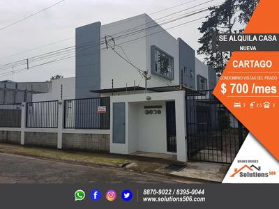 Se Alquila Casa Cartago, Condominio Vistas Del Prado