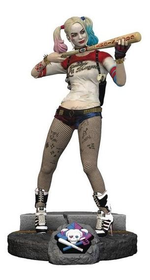 Estatua Arlequina Harley Quinn Finders Keepers C/ Chaveiro