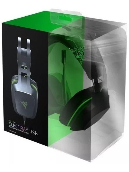 Headset Gamer Razer Electra V2 Usb Virtual 7.1 Ps4 Pc Mac