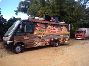 Food Truck Em Microonibus Montagem