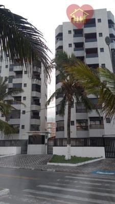 Apartamento Beira Mar À Venda Em Mongaguá ( Litoral Sul ) - Codigo: Ap0060 - Ap0060