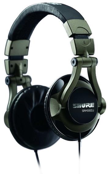Headphone Shure Srh550dj Na Loja Cheiro De Musica