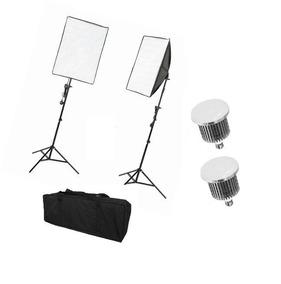 Kit De Iluminação Luz Continua P/ Estudio Fotografico Bivolt