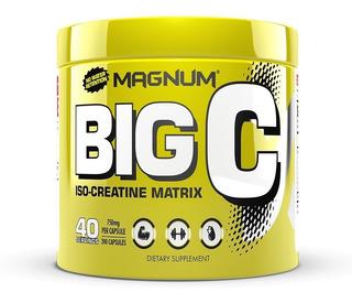 Creatina Magnum Big C 200 Caps - Frete Grátis