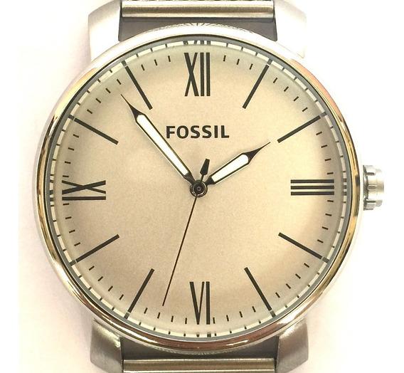 Relógio Fossil Prateado Bq2367 Analógico Original Usa