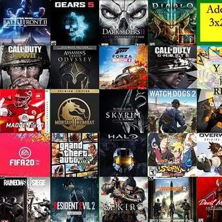 Call Of Duty Modern Warfare.fifa 20.mortal Kombat 11.forza 4