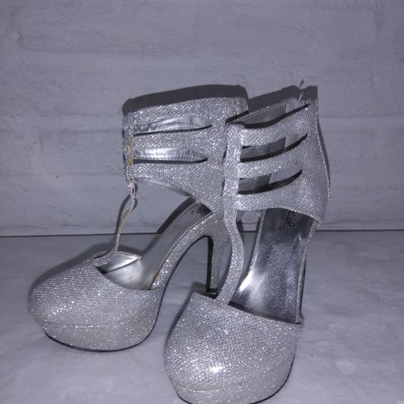 Zapatos Elegantes Sandalias Tacón Alto Para Fiestas
