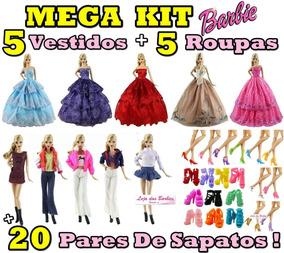 5d30ec367 Vestidos De Noiva Para Barbie - Acessórios para Bonecas Roupas de ...