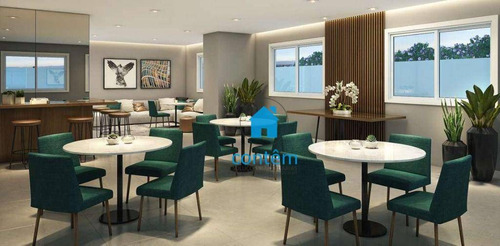 Imagem 1 de 17 de Condomínio Kz Reserva - Apartamento Com 2 Dormitórios À Venda, 42 M² Por R$ 270.422 - Umarizal - São Paulo/sp - Ap2523