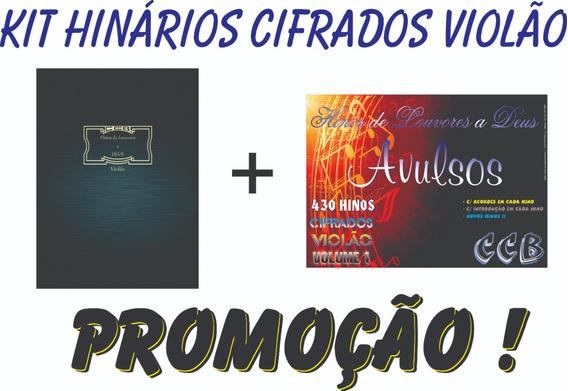 Kits Hinários Cifras Violão Ccb Tom. Original+avulsos Vol. 1