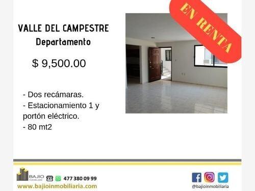 Departamento En Renta Valle Del Campestre