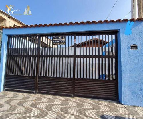Casa Com 2 Dormitórios À Venda, 83 M² Por R$ 270.000,00 - Mirim - Praia Grande/sp - Ca0425