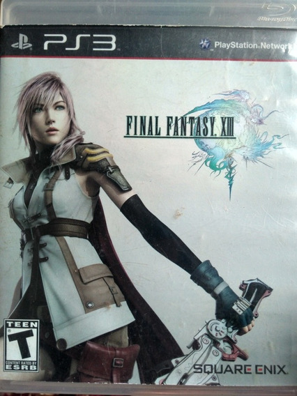 Final Fantasy Xlll Original , A Pronta Entrega