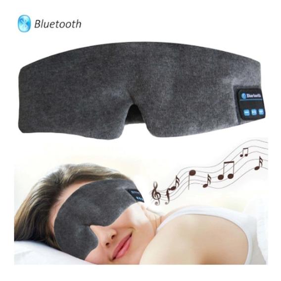 Fones Bluetooth Para Dormir - Máscara Tapa Olho - Meditação