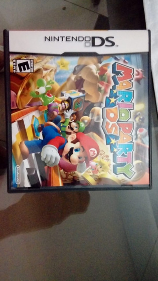 Games Jogos Nintendo Ds 3ds Mario Party Usado/seminovo
