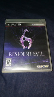 Videojuego Sony Playstation 3 Ps3 Resident Evil 6 Capcom