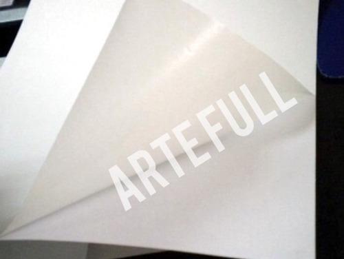 Papel Adhesivo Mate Carta 50 H