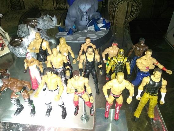 Wwe Mattel Lote 15 Figuras.