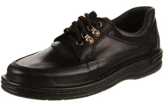 Zapato/ Calzado De Hombre Tipo Super Confort En Cuero Vacuno