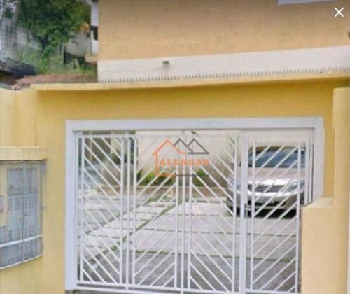 Sobrado Com 2 Dormitórios À Venda Por R$ 300.000,00 - Vila Ré - São Paulo/sp - So0218