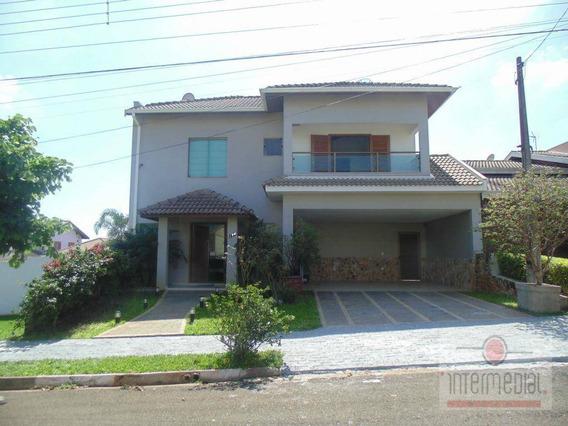 Casa Residencial Para Locação, Portal Dos Pássaros Ii, Boituva. - Ca1207