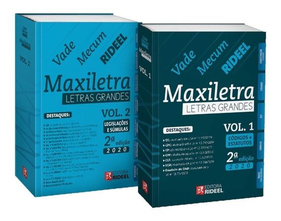 Vade Mecum Maxiletra Rideel Letras Grandes - 2 Volumes - 2