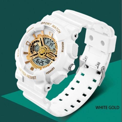 Relógio Sanda Branco A Prova D